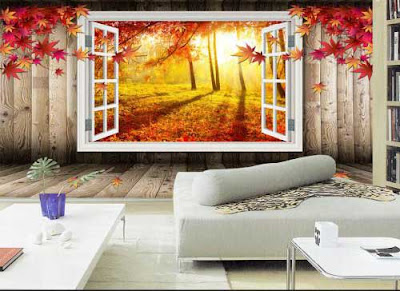 3D wallpaper for walls of living room interior designs 3D murals images (12)