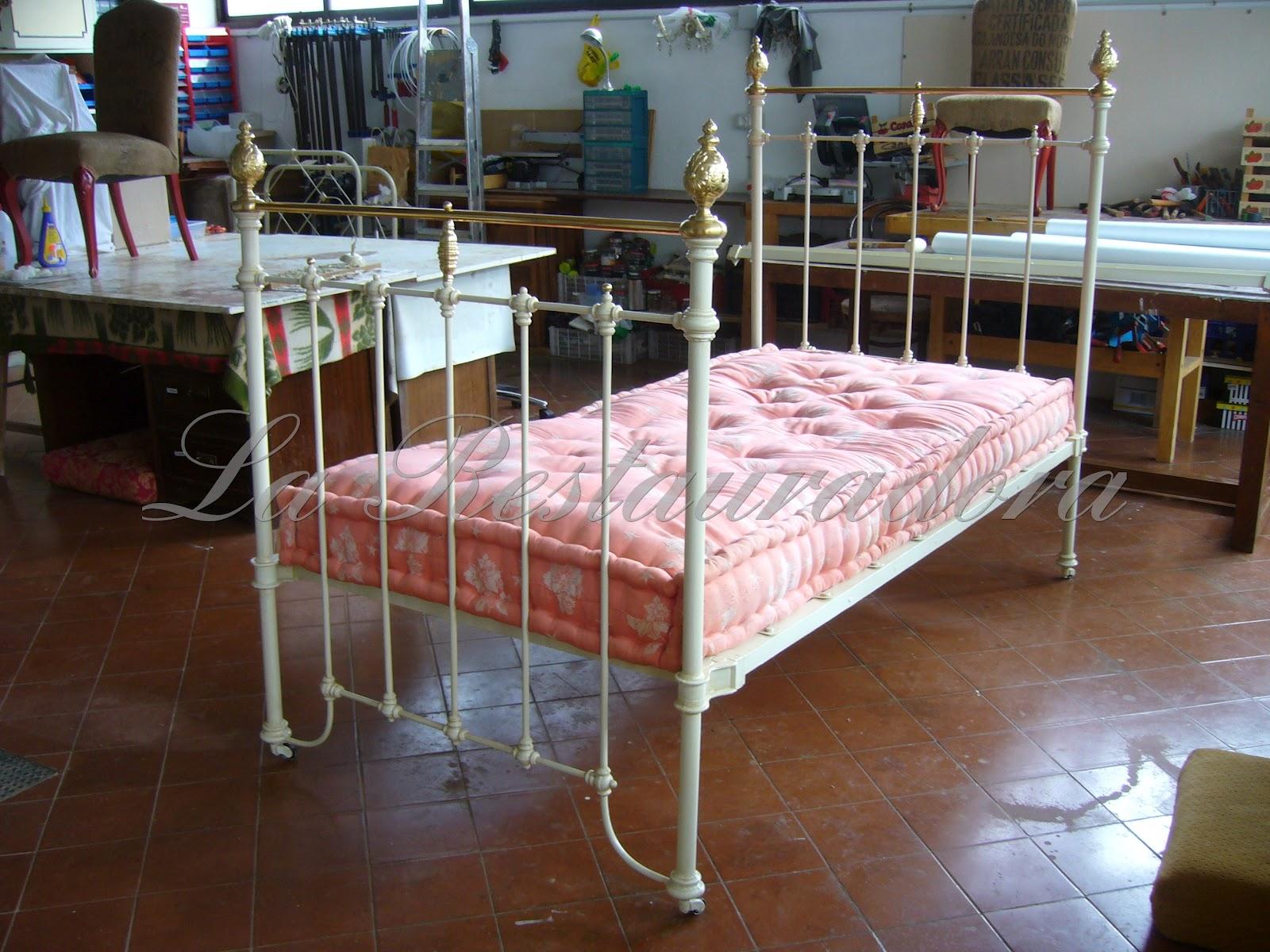 La restauradora mira como era camas de hierro - Camas antiguas de hierro ...