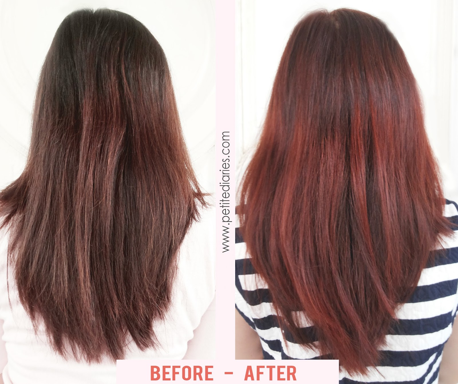 before after etude red wine