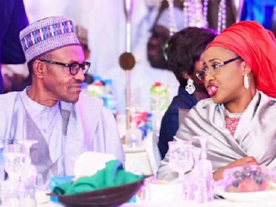 Buhari and wife News GistGate