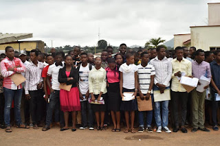 See Images From FUTA 2016/2017 Admission Screening Exercise