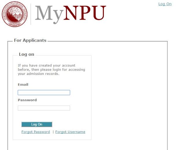 npu-portal-student