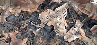 Spain is diferent,Spain fields from the air, abstract expressionist photography,artistic representation of human labor camps