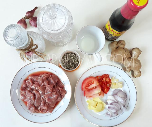 Resepi Sedap Daging Masak Halia