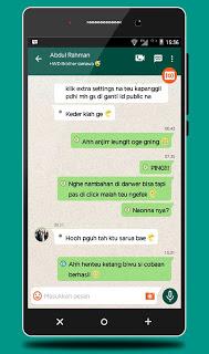BBM Mod IMessenger v7 Whatsapp Theme Unclone v3.0.1.25 APK Terbaru