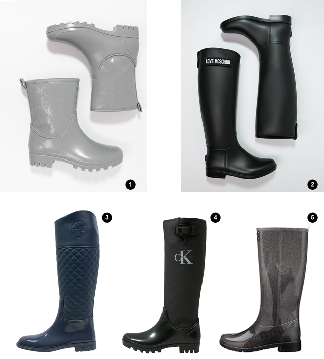 Turn it inside out // 10 rain boots to survive in style