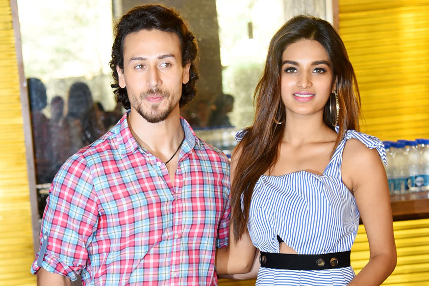Tiger Shroff and Nidhhi Agerwal Promotes Film Munna Michael In Delhi
