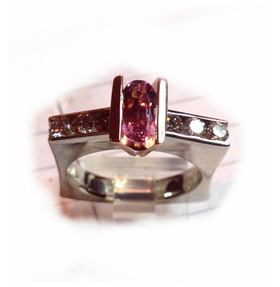 Purple Spinel Ring Sears