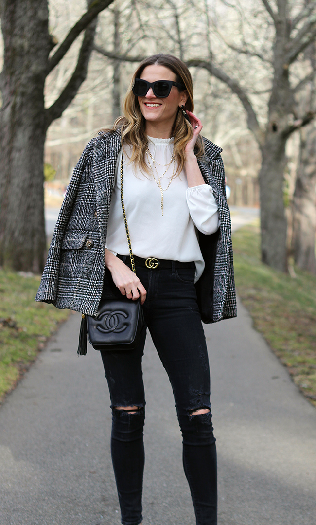 Dressy white blouse #whiteblouse #Highneckblouse