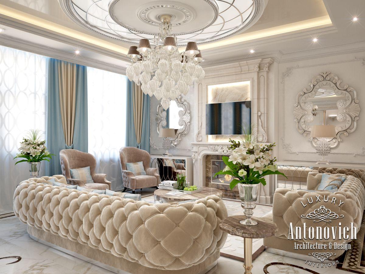 LUXURY ANTONOVICH DESIGN UAE Interior design in Art Deco ...