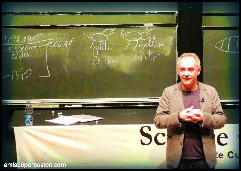 Universidad de Harvard:Ferran Adrià