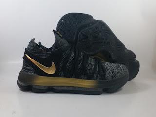 Nike KD 10 - Black Gold / Grey