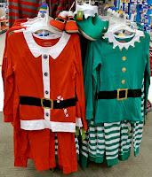 Target womens Santa suit lingerie pajamas Elf costume bell bootie slippers