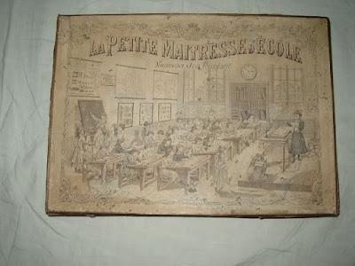 Malette jeu « La Petite Maîtresse d'Ecole, édition 1910 (collection privée)