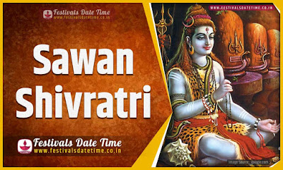 2021 Sawan Shivratri Puja Date and Time, 2021 Sawan Shivratri Festival Schedule and Calendar