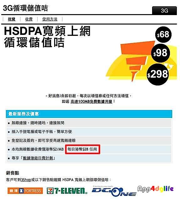 數位生活嬉遊記: Andy 帶你在香港機場買 3HK 3G 預付卡