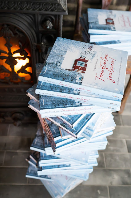 joulun 2018 kirjat Valkoinen Puutalokoti: Tervetuloa jouluun!   kirja arvonta sinulle  joulun 2018 kirjat