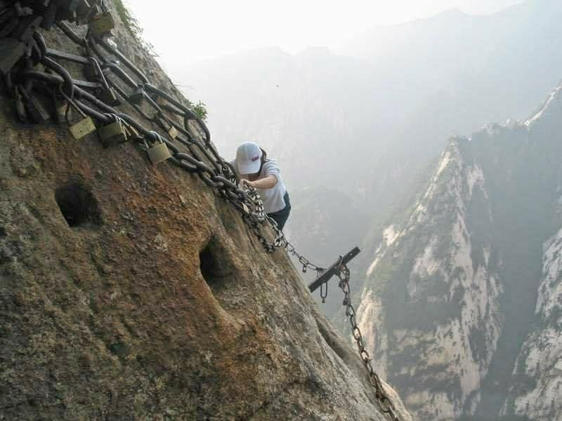 This Might Be The Scariest Trail In The World. But You'll NEVER Guess Where It Leads. Unbelievable!