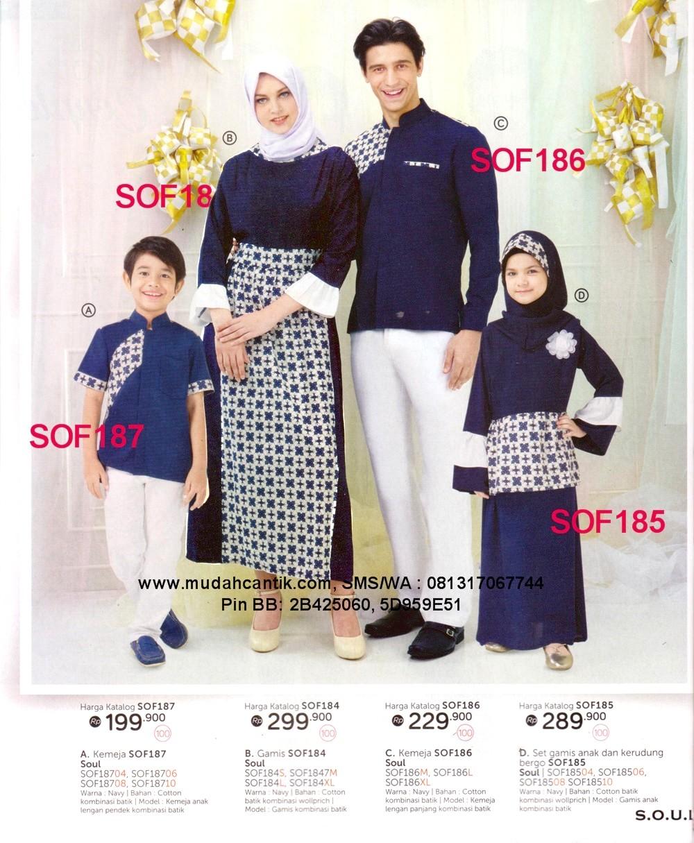 Baju Lebaran Keluarga Muslim Cantik Berbaju Muslim