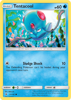 Tentacool Guardians Rising Pokemon Card