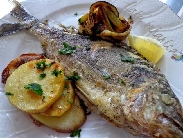 Popis recepata Lake kuharice  za jela od riba, rakova, školjki i glavonožaca.