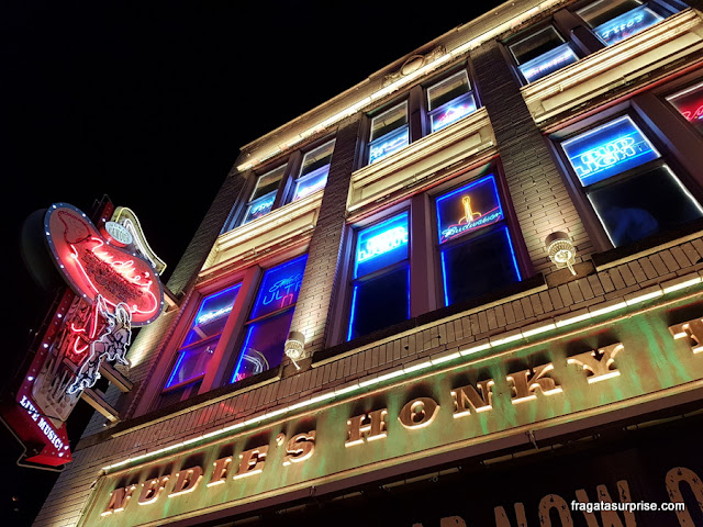 Honky Tonk em Nashville