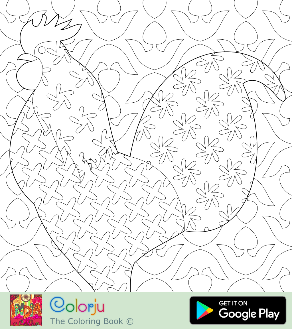 coloring pages D: Animal coloring pages 2