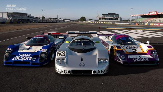 شاهد لأول مرة لعبة Gran Turismo Sport و هي تعمل بدقة 8K و معدل 120 إطار ، إليكم من هنا ..