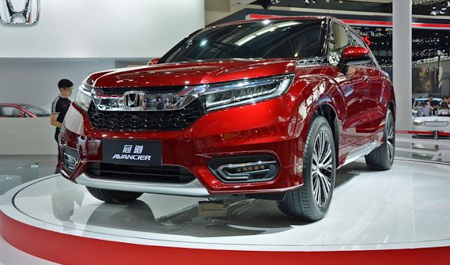 Inilah Avancier, SUV Mewah Terbaru Honda Diatas CR-V