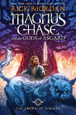 #BookReview: Magnus Chase and the Sword of Summer by Rick Riordan