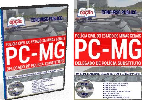 concurso da PCMG - Público Polícia Civil de Minas Gerais