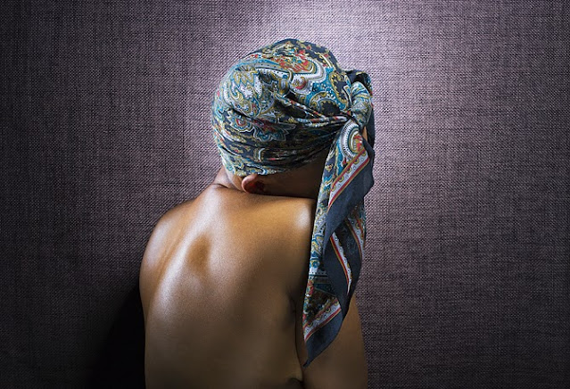Blog beauté afro - Angela Dennis - Foulard de nuit