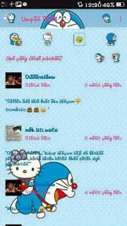 BBM MOD Doraemon Hello Kitty Cute v3.0.0.18