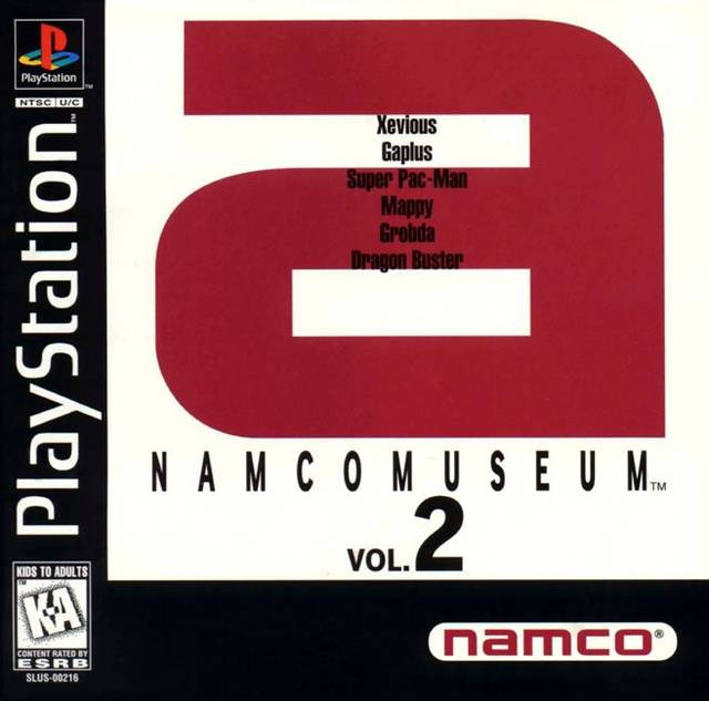 Namco Museum Vol.2 - PS1 - ISOs Download