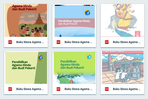 Buku Siswa Agama Hindu SD Kelas 1 2 3 4 5 6 Kurikulum 2013 Terbaru