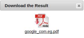 تحويل صفحة ويب إلى ملف PDF