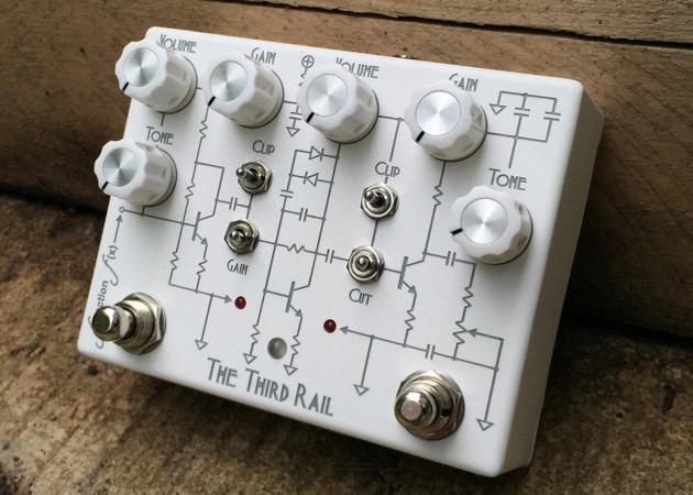 Laser engraving guitar pedal