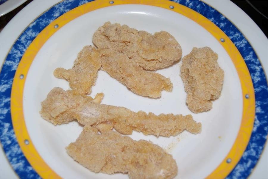 receta de nuggets de pollo paso 2