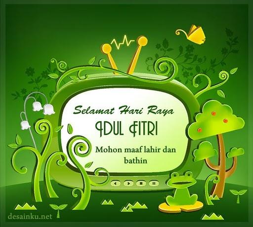 Kartu Ucapan Idul Fitri  Suara Terbaru 2013