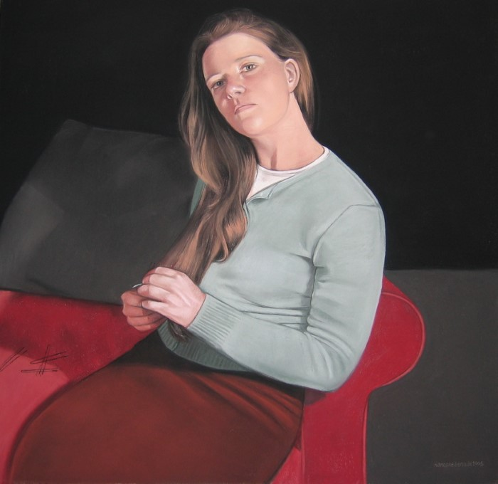Реалистичные портреты. Hanneke Benade