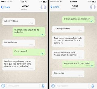 Esposa safada pagando boquete na piroca do amigo do seu marido e vazou no Whatsapp
