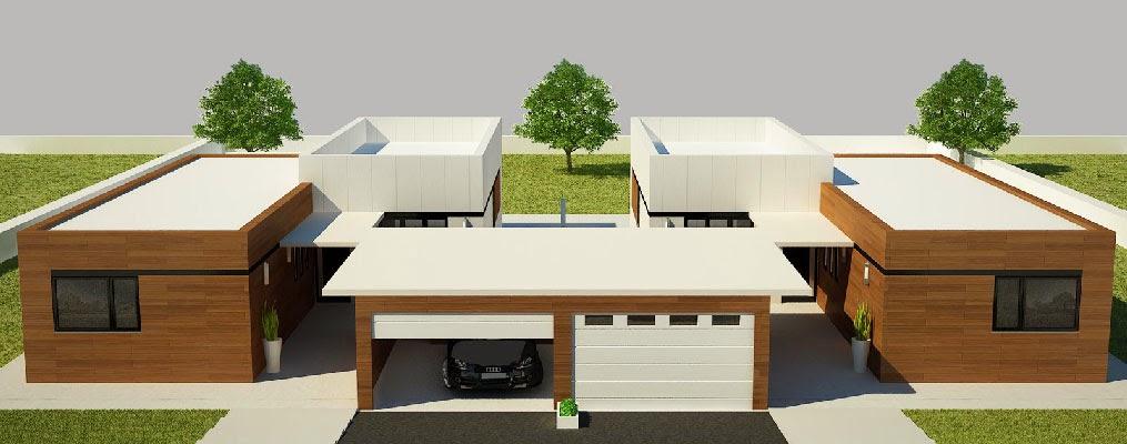 Se puede adosar una vivienda modular a una tradicional for Modelos de viviendas