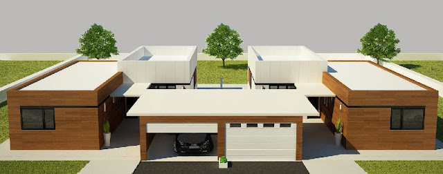 Vivienda modular pareada de Resan - Modelo Z3