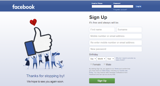 Facebook Account Login | www.facebook.com