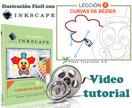 Curso Inkscape 2/10 Curvas de Bézier