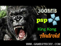 King Kong  ISO PPSSPP Highly Compressed 300MB