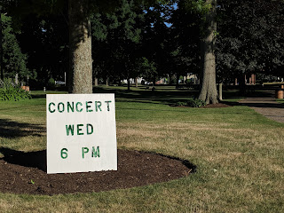 Concerts on the Common: Sharon Band and Rob Peters Bubble Man - July 11