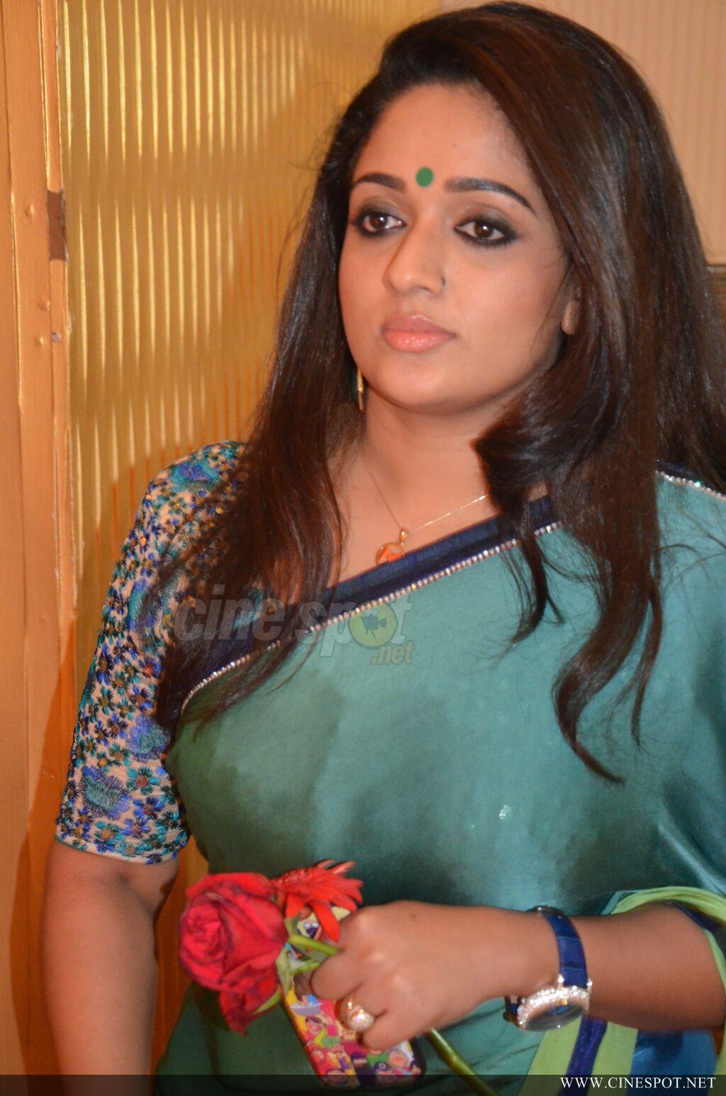 Kavya Madhavan Latest Photos In Saree From Radhika Wedding -3051