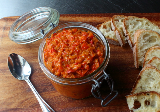 Food wishes video recipes bomba calabrese this pepper spread is this amazing calabrian pepper spread is as delicious as it is unknown it doesnt even have a wikipedia page hey even i have a wikipedia page forumfinder Gallery