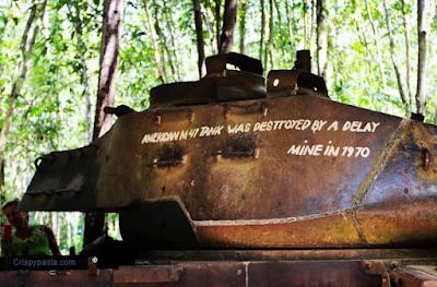 Terowongan CuChi Tunnel rats vietkong perang amerika vietnam